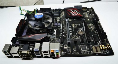 Asus Z170 Pro Gaming / i7 Intel QHQJ Confidential